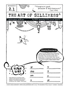Online Class - 30 SILLY Worksheets PDF - SESSION 2.