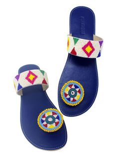 Maasai sandals african sandals leather sandals handmade sandals women fashion kenyan sandals flat sandals beaded sandals multicolor shoes shoes sandals women wear t strap sandals Boho Sandals, Stylish Sandals, Leather Sandals, Flat Sandals, Strap Sandals, Shoes Sandals, Flat Shoes, Heels, Beaded Shoes