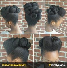 The Most Stunning Natural Hair Updo's Ever! Black Hairstyles & Natural Hair Styles: Hair Care Tips The Most Stunning Natural Hair Updo's Ever! Black Hairstyles & Natural Hair Styles: Hair Care Tips Pelo Natural, Natural Hair Updo, Natural Hair Care, Natural Hair Styles, Natural Hair Wedding, African Hairstyles, Black Women Hairstyles, Braided Hairstyles, Wedding Hairstyles