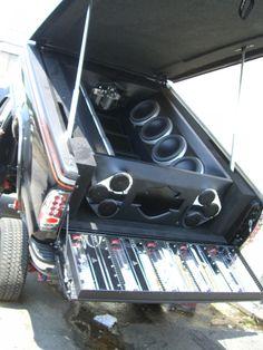 Ford F250 Harley 2004 Custom Tilt Bed Full Of Audio And Video Car
