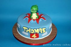 Toy Story Rex Cake by Donna Makes Cakes