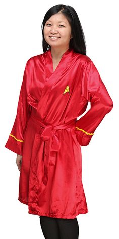 Uhura Satin Robe