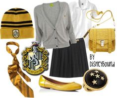 hufflepuff inspired outfit - Google Search
