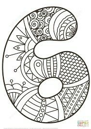 Zentangle Numbers Coloring pages. Select from 31983 printable Coloring pages of cartoons, animals, nature, Bible and many more. Counting For Kids, Math For Kids, Craft Activities For Kids, Colouring Pages, Coloring Pages For Kids, Coloring Books, Printable Numbers, Printable Crafts, Math Numbers