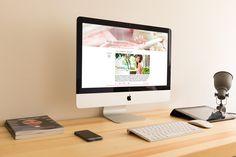 """Website for """"ISEI"""" on Behance"""