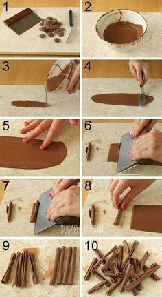 Décoration chocolat