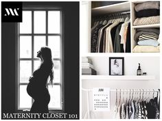 How to organize your maternity closet (a couple more links: http://www.mindingyourmatters.com/step-step-organizing-maternity-clothes and http://theartofsimple.net/managing-your-wardrobe-pregnancy-post-partum-and-all-those-sizes-in-between/)