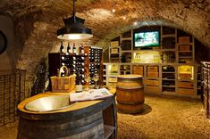 Wine Cellars | Homes of the Rich