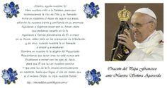Rincón de la Oración: Estampas Oraciones del Papa Francisco ante Nuestra...