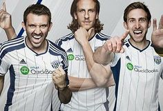 West Bromwich Albion 2014/15 adidas Home Kit