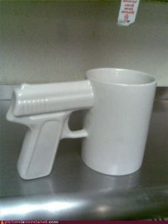 For the caffiene-addicted hit man.