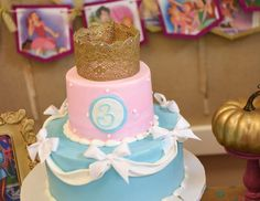 "Cinderella  / Birthday ""Our Little Princess is turning 3!"" 