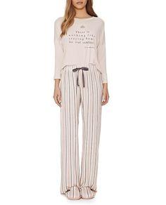 Pijama-Feminino-Lua-Lua-Longo-Calca-Listras