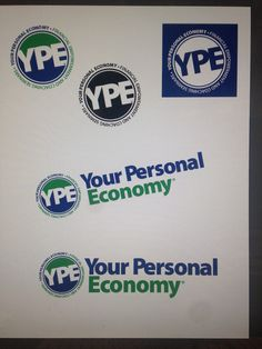 Your Personal Economy logo I designed.