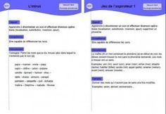 Jeux de conscience phonologique pour des élèves de maternelle moyenne section (ms) et grande section (gs). Jeux de phonologie maternelle