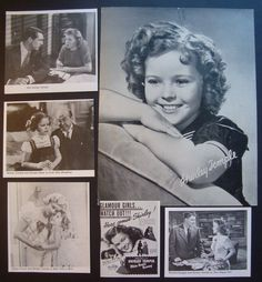 Shirley Temple( Still watch most of her movies). Always been one of my favorite actress.