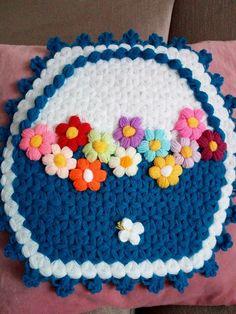 Puff flower stitch crochet
