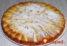 Jablkový koláč, ktorý sa roztápa v ústach: Pár prísad a všetci hostia si pýtali na recept! Russian Recipes, Apple Pie, Food And Drink, Cooking Recipes, Sweets, Cookies, Baking, Desserts, Apples