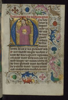 Book of Hours in Dutch, Netherlands, ca. 1470 by Walters Art Museum Illuminated Manuscripts, via Flickr