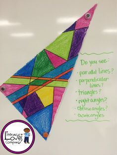 Make math fun by integrating art in the classroom with this colorful geometry lesson.