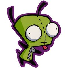 Invader Zim Gir Sticker | Hot Topic (£0.95) ❤ liked on Polyvore