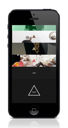 next™ iPhone App Experiment by Lasse Kusk and Daniel Matzke