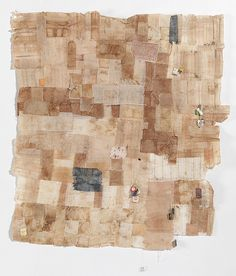 Teabag Quilt Panel 3 by Sophie Truong http://www.flickr.com/photos/50694007@N04/with/5082401574/
