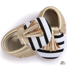 cheap for discount 542b1 c981a Baby Tassels Bowknot Shoes