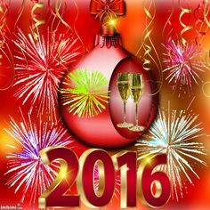 Animated New Year's Good Music, Amazing Music, Happy New Year, Christmas Bulbs, Blessed, Animation, News, Holiday Decor, Creative