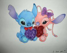 Stitch and Angel Love! by ~Nadeshio-Kohana