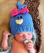 Blue Bird (knit) includes sizes newborn to adult