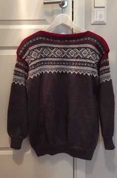 Nok en Marius genser. Men Sweater, Pullover, Knitting, Sweaters, Fashion, Breien, Moda, Tricot, Fashion Styles