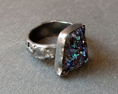 Check out this item in my Etsy shop https://www.etsy.com/listing/237816923/oxydised-sterling-silver-ring-with-free