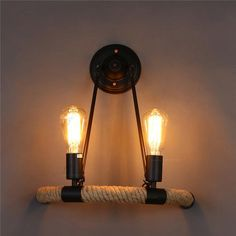Retro Lighting, Lighting Store, Indoor Wall Sconces, Wall Lamps, Balcony Bar, Hallway Walls, Bedroom Lamps, Metal Walls, Light Bulb