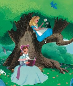 I loved this movie as a child.  My mom actually made me an Alice dress to play in, even though I had short, dark hair.  I still like the movie, too.