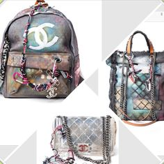 Chanel Graffiti bags