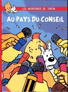 Les Aventures de Tintin - Album Imaginaire - Au Pays du Conseil