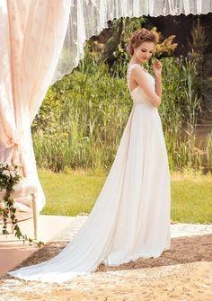 813cc58994 A444 Sexy Spaghetti Straps V Neck Wedding Bridal Gowns