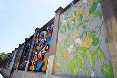 """Doa Oa. Proyecto """"Muros"""".#ArteTabacalera Promoción del Arte #ArteUrbano #StreetArt #Madrid Arterecord 2016 https://twitter.com/arterecord"""