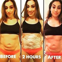 It Works Wraps ONLY 2 hours after just ONE wrap  I love seeing people that are amazed & happy with this product  This is not even a FULL TREATMENT❗️If you think these wraps do not work, ☝think again!! The ingredients in our wraps are all natural  that actually help tighten & firm loose skin  which is why these results look ✨STUNNING✨ Other
