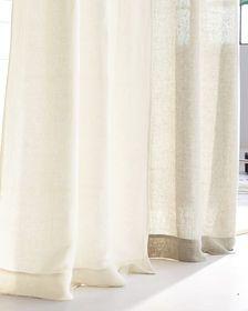 Bolinas Linen Window Panel