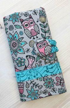Owls Crochet Case Crochet Hook Case Crochet Case Crochet