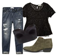"""Untitled #1552"" by moria801 ❤ liked on Polyvore featuring Abercrombie & Fitch and Ultimo"