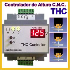Thc Height Controller Plasma Cnc Router Hypertherm Esab