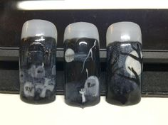 Halloween nails...this is some real talent