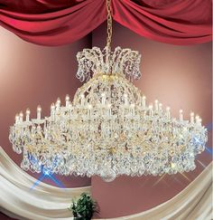 Classic Lighting Crystal Traditional Chandelier from the Maria Ther Swarovski Strass Indoor Lighting Chandeliers Foyer Chandelier, Crystal Chandelier Lighting, Crystal Lights, Crystal Lamps, Baccarat Chandelier, French Rococo, Rococo Style, Industrial Light Fixtures, Classic Lighting