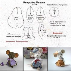 Ideas for sewing patterns free animals english - Her Crochet Animal Sewing Patterns, Sewing Patterns Free, Doll Patterns, Sewing Toys, Sewing Crafts, Sewing Projects, Felt Projects, Sewing Stuffed Animals, Stuffed Animal Patterns
