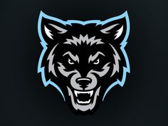 Wolfpack Soccer designed by Jason Villanti. Connect with them on Dribbble; the global community for designers and creative professionals. Dog Logo Design, Game Logo Design, Lobo Tribal, Tribal Wolf Tattoo, Top Imagem, Lion Illustration, Geisha Art, Esports Logo, Eagle Logo