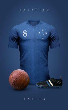 634aade82 Designer cria camisas clássicas para grandes clubes da América do Sul e  Europa