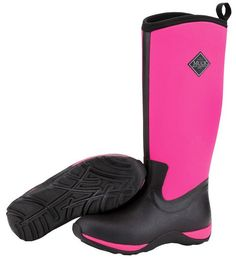 Muck Boots Women's Arctic Adventure Solids Winter Boot - Black/Pink - HeadWest Outfitters
